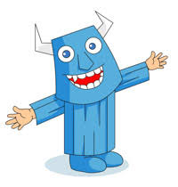 Blue Monster Halloween Costume Free Halloween Clipart Clip Art Pictures Graphics Illustrations