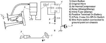 air horn wiring diagram compressor how to hook up air horns to a