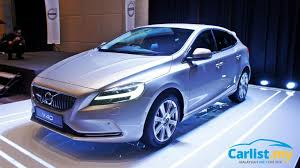 new 2017 volvo v40 with thor s hammer lights launched rm180 888