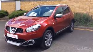 red nissan 2012 nissan qashqai tekna red 2012 youtube