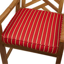 Patio Furniture Fabric Replacement by Exterior Wood Patio Furniture With Striped Red Sunbrella