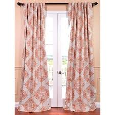 Burnt Orange Curtains Sale Coral Orange Curtains Enchanting Orange And Gray Curtains And Best