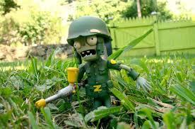 plants vs zombies garden warfare figurines inbound slashgear
