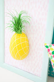 Pineapple Home Decor by 13 Diy Paper Mache Decorations For Your Home Shelterness