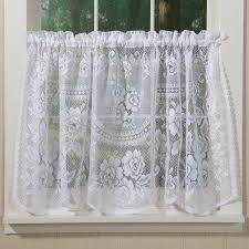 decoration cool kitchen curtains lace kitchen window curtains