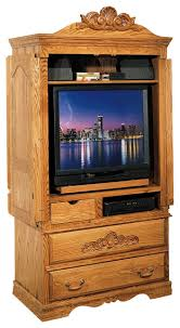Tv Armoire With Doors And Drawers Tv Armoire W Wrap Around Doors And Carving Detail Contemporary