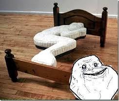 Forever Alone Meme Origin - the forever alone bed