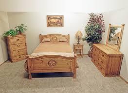 rustic tall bed w texas star chubby 39 s mattress king star