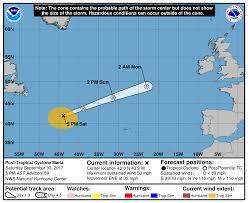 post tropical cyclone maria