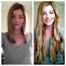 18 inch hair extensions before and after hair extensions before and after blonde hair extensions http