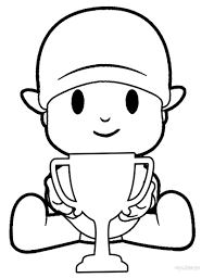 draw pocoyo coloring pages 33 for your picture coloring page with