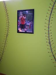 softball bedroom wall oh my this is what kenzie wants in her room