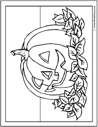 72 halloween printable coloring pages customizable pdf