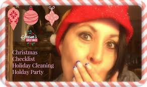 christmas checklist holiday cleaning and holiday party youtube