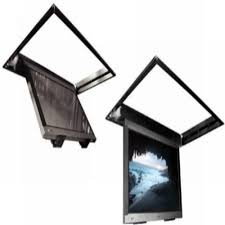 Drop Down Tv From Ceiling by Electric Flip Down Ceiling Tv Lift System Atallah Hospital And