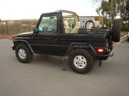 mercedes g wagon convertible for sale buy used mercedes 1991 300ge g wagen convertible no rust