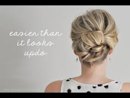 hot to do an upsweep on shoulder length hair easier than it looks updo youtube