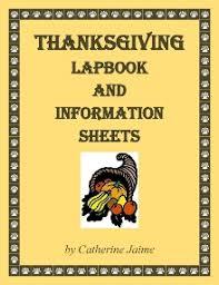 nov 18 the thanksgiving lapbook info sheets homeschool