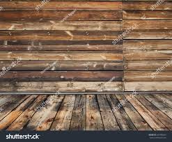 Wooden Interior by Old Rural Wooden Interior Vector Stock Vector 292480025 Shutterstock
