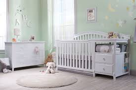 Sorelle Tuscany 4 In 1 Convertible Crib And Changer Combo by Home Sorelle Furniture