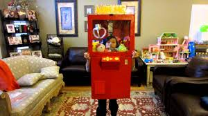 cool homemade crane game prize claw halloween costume youtube