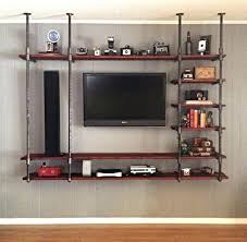Industrial Standing Desk by Tv Stand Enchanting Diy Standing Desk Project Tv Stand Ideas 124