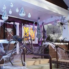 spooky house decorations for halloween crate and barrel outside