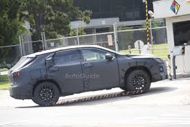lexus rx 350 price paid 7 seat lexus rx prototype spied testing autoguide com news