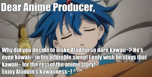 Magi Memes - is aladdin kawaii anime magi the labyrinth of magic by