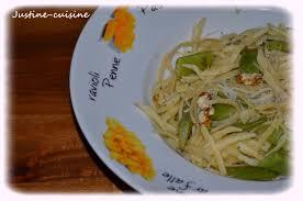 cuisiner les haricots plats pâtes aux haricots plats ail et parmesan justine cuisine