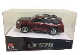lexus lx 570 weight amazon com 1 24 scale red lexus lx 570 official licensed remote