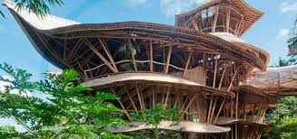 Incredible Houses Wordlesstech Incredible Bamboo Houses In Indonesia