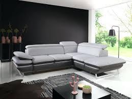 canape angle design d intérieur salon canape angle noir et blanc design cuir