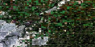 Map Of Edmonton Canada by Edmonton Ab Free Satellite Image Map 083h11 At 1 50 000