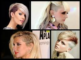 hair styles with both of sides shaved women s hairstyles the shaved side
