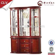 vintage furniture glass living room showcase design wood buy