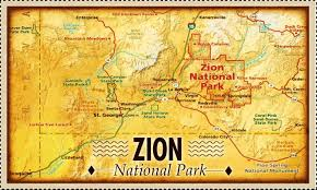 map of zion national park zion national park search zion national park