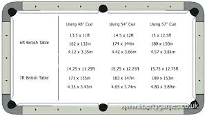 pool table sizes chart pool tables regulation size mailgapp me