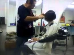 short hair cut pictures for hairstylist salon cut long to bob haircut youtube