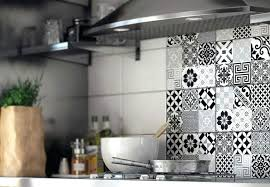 credence autocollant cuisine stickers pour carrelage mural cuisine credence adhesive cuisine