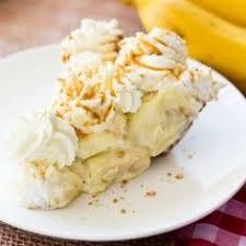baking with blondie salted caramel banana cream pie sweet