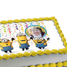 edible minions minions icing decorations