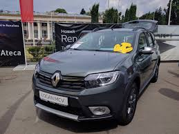 renault logan 2017 на new cars fest 2017 представили renault logan mcv stepway cross