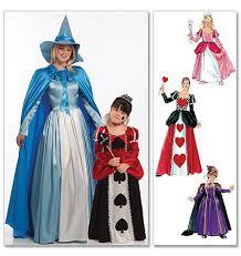 Halloween Costume Patterns Queen Hearts Costume Diy Girls Costume Pattern Queen