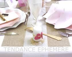 chemin de table mariage chemin de table toile de jute mariage tendance rouleau de 5m