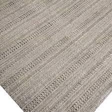 Best Wool Area Rugs Amazing Braided Wool Flat Weave Area Rug Rugs Grey Solid