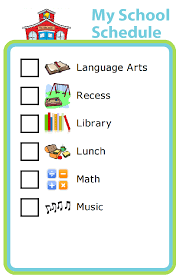 week 32 learning independence with a schedule