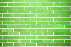 Dark Brick Wall Background Lime Green Brick Wall Texture Picture Free Photograph Photos