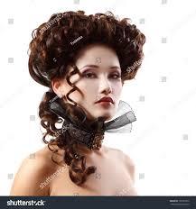 beautiful halloween background woman beautiful halloween vampire baroque aristocrat stock photo