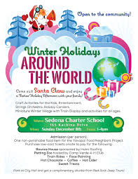 winter holidays around the world sedona charter school